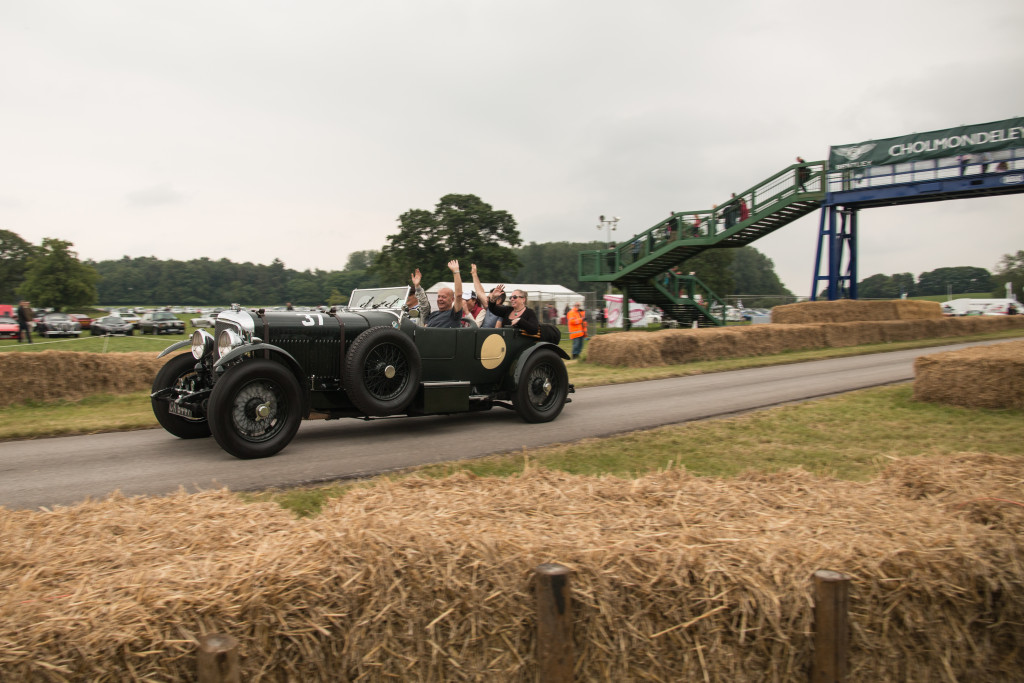 Bentley 8 Litre through chicane